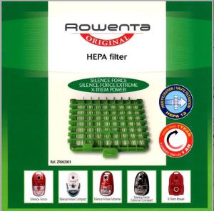 Filtre Hepa 13 pour aspirateur Rowenta
