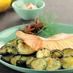 recette Courgettes saumon friteuse