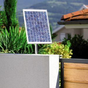 La motorisation de portail solaire