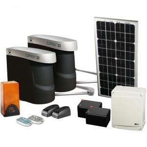 Opter pour une motorisation de portail solaire for Lampe solaire pour portail