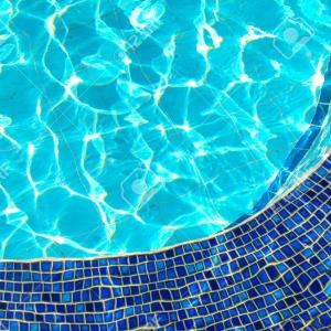 eau bleue